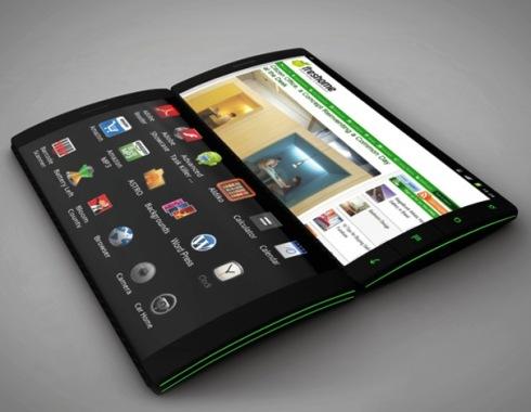 Gadget smartphone tipe flip jadi andalan