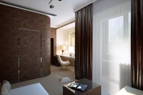 Sebuah-kamar-dilengkapi-dengan-2-gaya-berbeda
