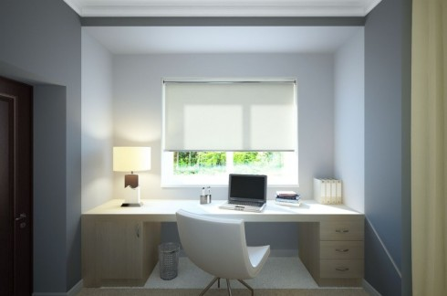 Sebuah kamar dilengkapi dengan 2 gaya berbeda