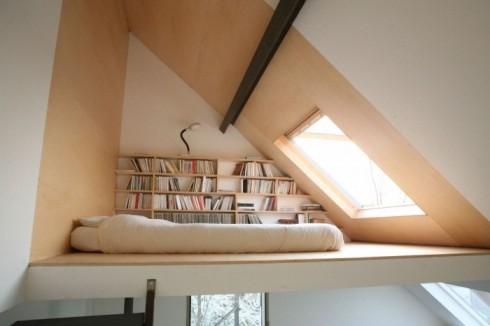 ruang perpustakaan mini